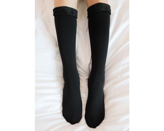 1011 High knee fleece sock ขนาดใต้เข่า