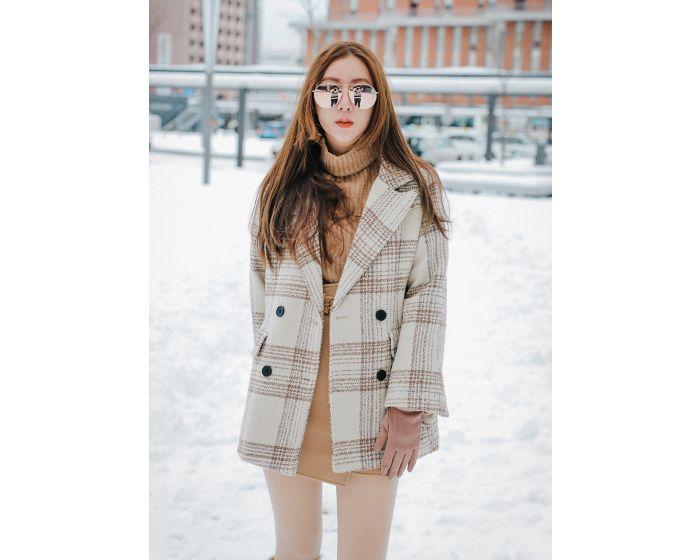 1027 Wool Scott Basic Coat