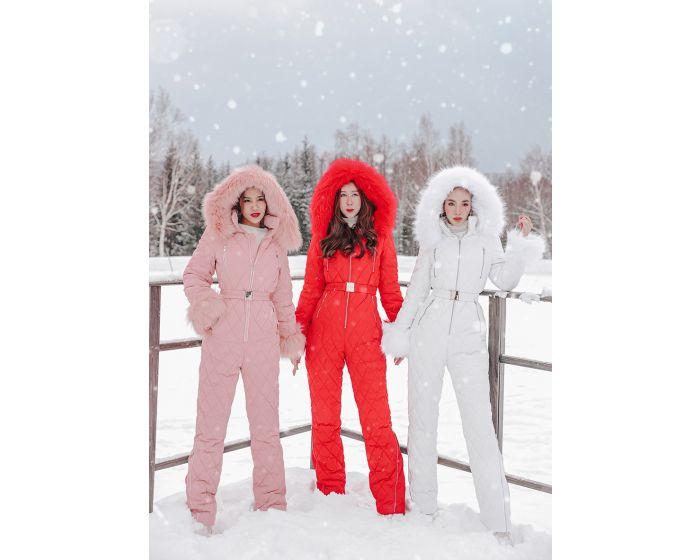 1044 Bodysuit Hoodie Ski Coat