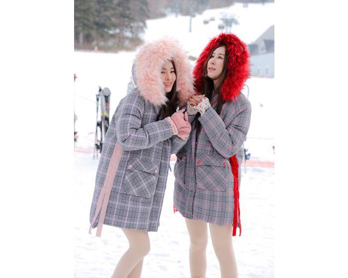 1037 Scott Down Coat & Fur Hood