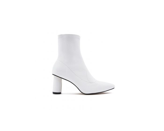 858 Circle Heel Ankle Boots
