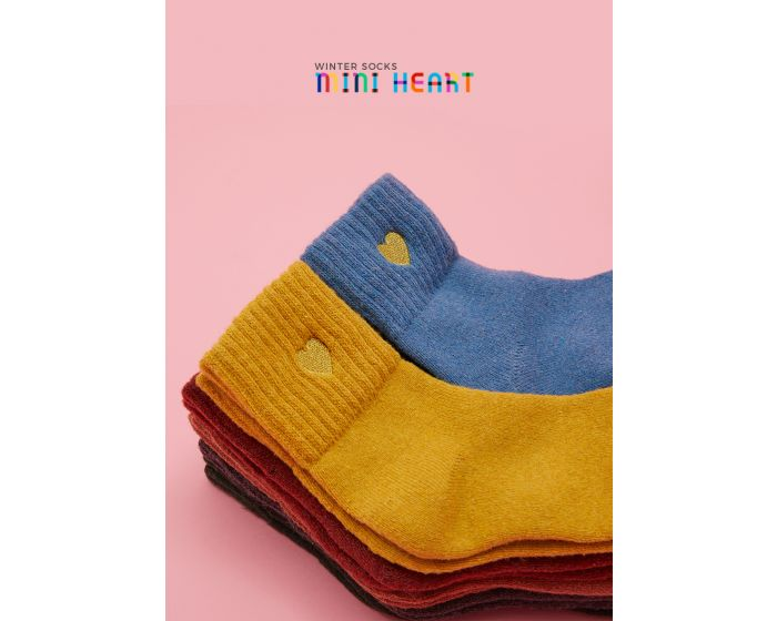 686 Winter Socks mini Heart