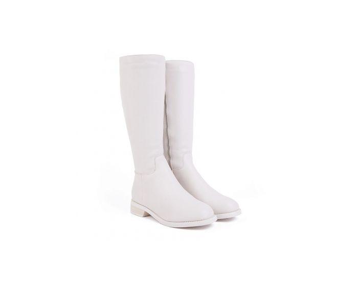 712 Low heel under knee boots