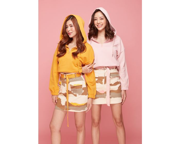 741 Army Set Sweater & Skirt