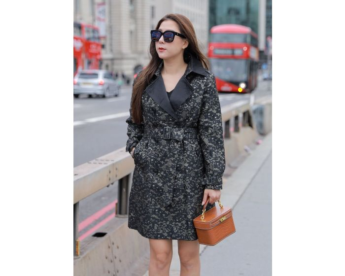 560 LACE TRENCH COAT