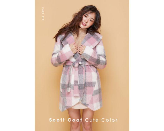 597 Scott Coat Cute Color