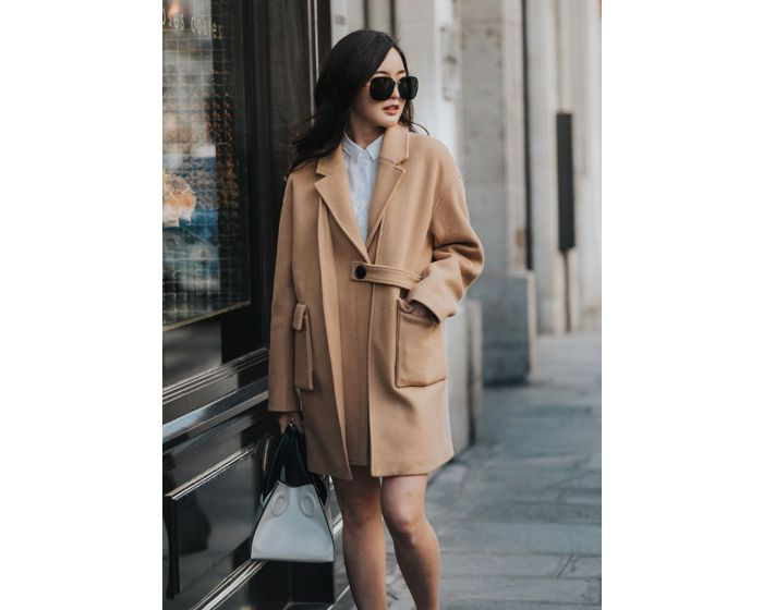 598 two layer style coat