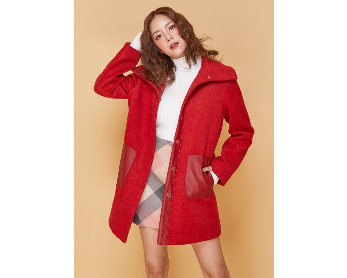 608 Christmas & Cream Coat
