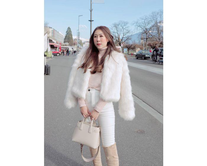 647 Fur coat long hair