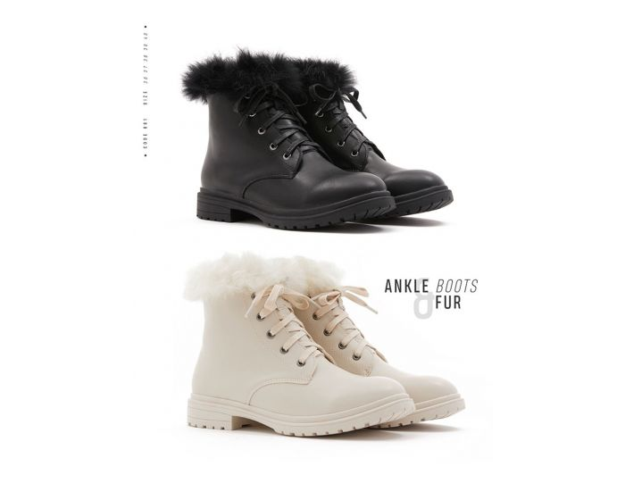 681 ANKLE BOOTS & FUR