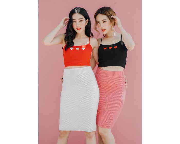 711 Shape Knitting Skirt