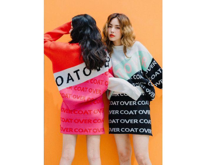 716 CO Knitting & Skirt Set