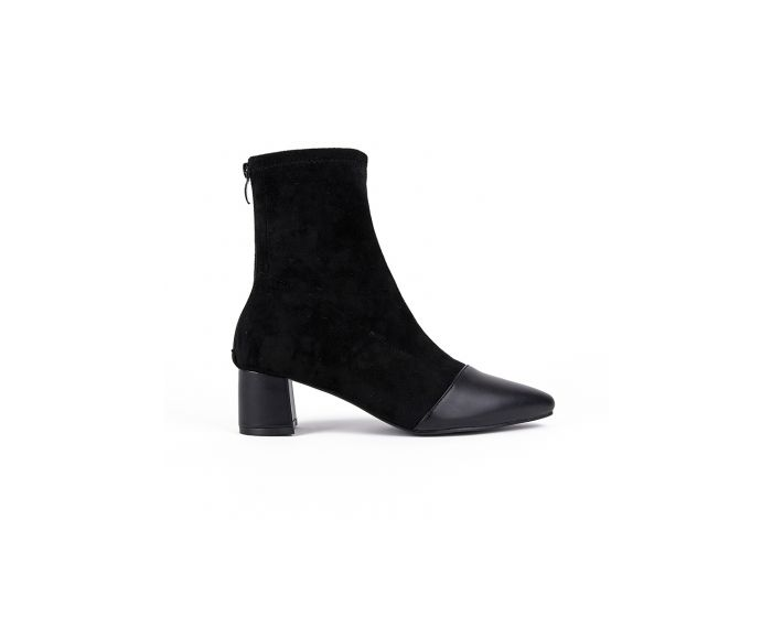 889 Suede & Leather Ankle Boot