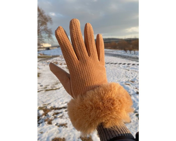 941 Fur Glove scott fabric