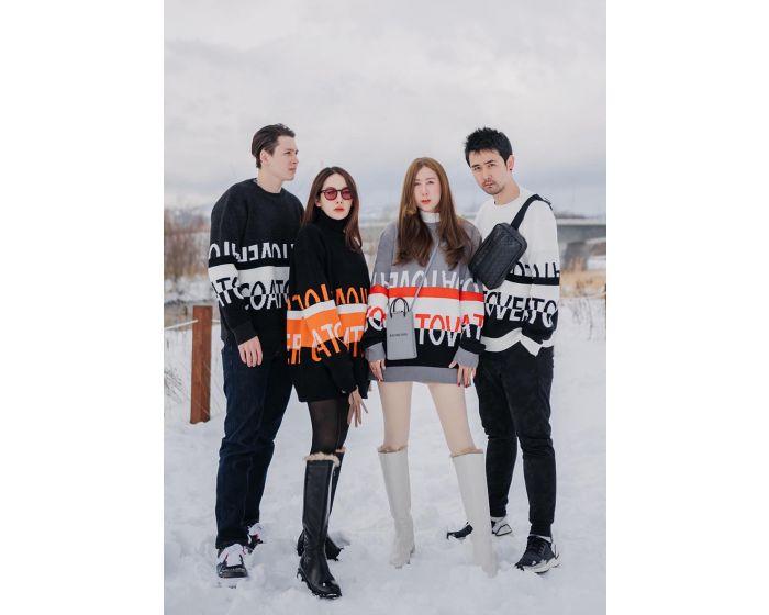 949 COATOVER Knitting Unisex
