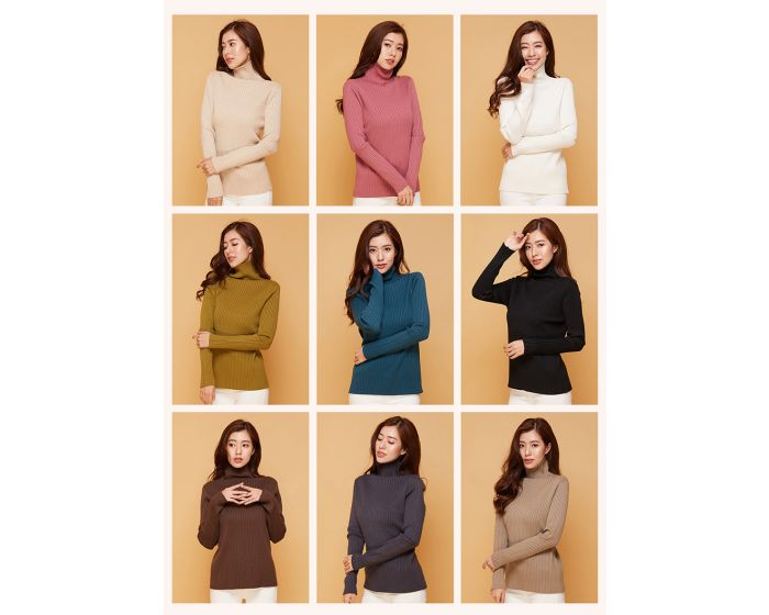953 slim fit knitting 9 colors