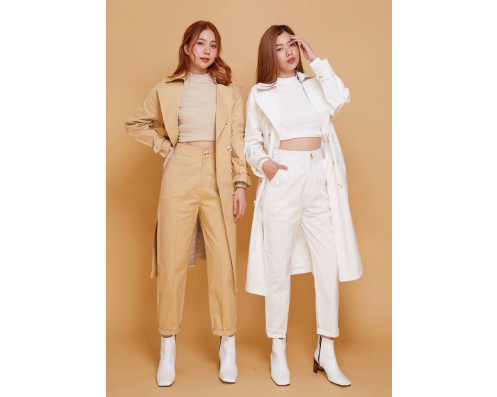 982 Set Trench Coat & Trousers