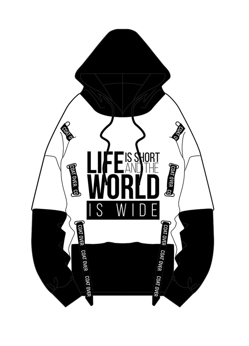 903 The world is wide Sweater